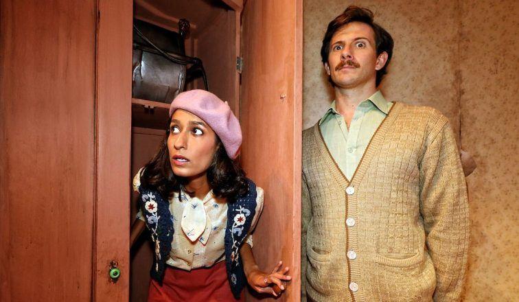 Actors make comic strides