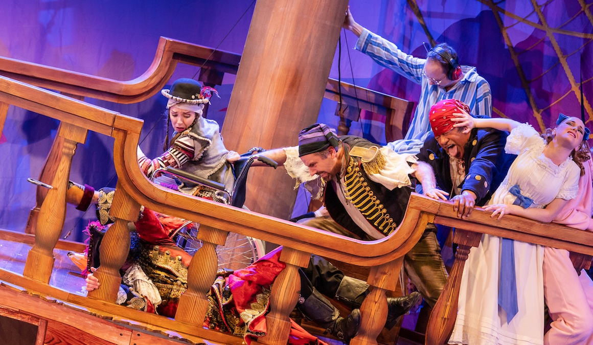 Peter Pan Goes Wrong: The Art of Falling Apart
